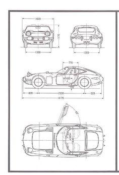 Toyota 2000GT (1967) | SMCars.Net - Car Blueprints Forum