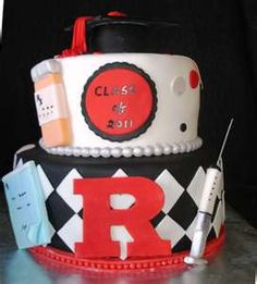 Delicious Delights NJ: Pharmacist Graduation Cake