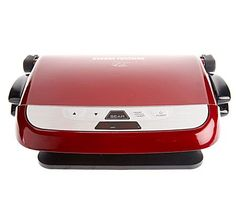 George Foreman Evolve Grill with 5 Nonstick Plates and Sear Function — QVC.com