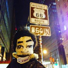 The beginning... #route66 #sign #historic  #chicago #lilAL @djasiatic