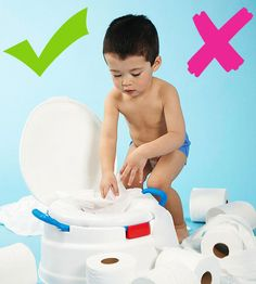 As you get ready to potty train your child, keep these basic tips in mind to help you determine what you should and shouldn't do when introducing the