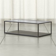 Shop Switch Coffee Table.  Designed by Mark Daniel of Slate, the Switch Coffee Table is a Crate and Barrel exclusive.Check out our tips and .