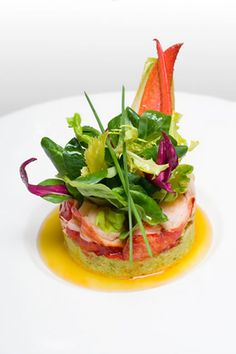 Tropical Appetizer with Crab and Avocado