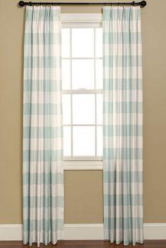 CURTAINS.     Curtains in P Kaufmann Buffalo by BELLASHOMEDECOR, $225.00