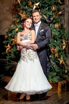Strictly Come Dancing Christmas 2015. Harry Judd and Joanne Clifton