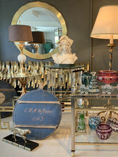 Antique collection in one of my showrooms