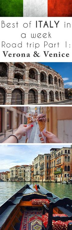 Best of Italy in a week!? Yes it's possible and it's amazing! See my 7 day Italy road trip guide. Starting with what to do, see and eat in Verona & Venice (Veneto region). Plan your dream Italy trip in just a week! Part 2 is going to be about the Italian Riviera and Part 3 about Florence and Rome.