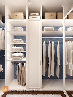 Фото интерьер гардеробной комнаты из проекта «Дизайн 4-комнатной квартиры 162 кв.м. в ЖК «Платинум», стиль неоклассика»