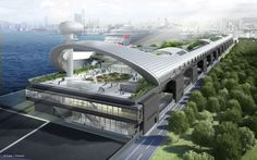 Kai Tak Cruise Terminal   Projects   Foster + Partners