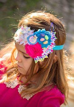 Easter Jelly Bean Headband Spring Headband Easter by MiyahsCloset