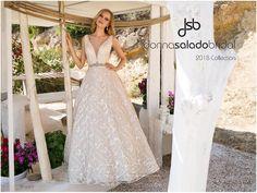 Νυφικό Donna Salado Valentia Lace Wedding, Wedding Dresses, Collection, Fashion, Bride Dresses, Moda, Bridal Gowns, Fashion Styles, Weeding Dresses