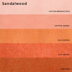 Natural Dyes (from plants and insects) - Sandalwood