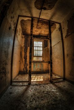 Cagey Situation | Pilgrim State Hospital | Long Island | New York | Photo By Joseph Vigilis