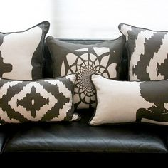 AphroChic pillows featured on Fab.com | Pillows With Artistic Ardor
