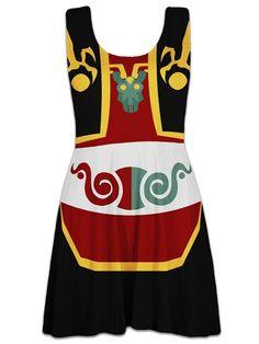 """Legend Of Zelda: The Wind Waker"" Ganon Skater Dress Is Adorably Chic"