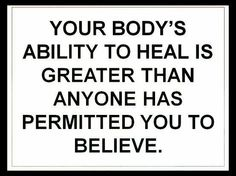 Your body's ability to heal is amazing. Treat your body well by giving it healthy plant-based foods, sleep, water, exercise, and meditation.