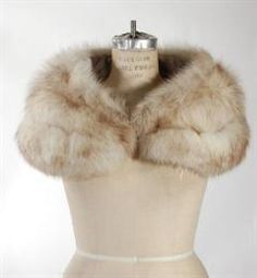 Vintage Beautiful Blue Fox Wrap for women at very low prices. Gently used and Pre owned.  Day Furs Inc.