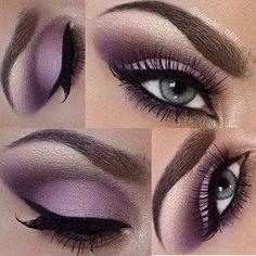 Tendance Maquillage Yeux 2017 / 2018 Magnifiques doux violet #eyes #makeup