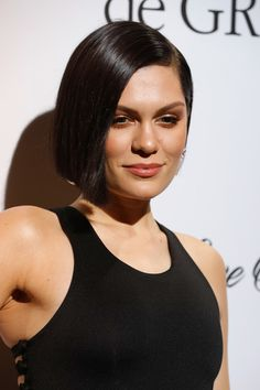 Jessie J B.o.B - Jessie J sported a sleek bob at the De Grisogono Love on the Rocks party.