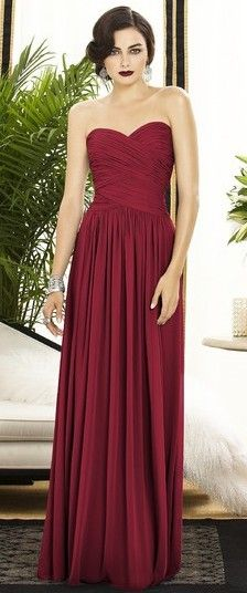 red prom dress; maybe in a different color?