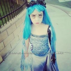 Corpse Bride Costume DIY | Found on ideas.coolest-homemade-costumes.com