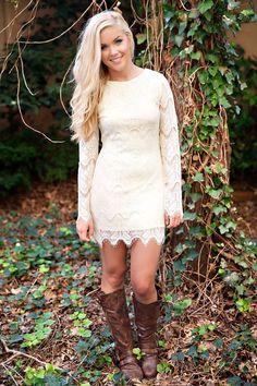 Captivate Crochet lace Dress