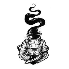 My small spaceman collection, let me know your favorite 💫 ⠀ ✧ don't copy or use without permission Copyright © Alexandra Yarushyna Astronaut Drawing, Astronaut Illustration, Astronaut Tattoo, Space Illustration, Space Drawings, Dark Art Drawings, Pencil Art Drawings, Tattoo Sketches, Tattoo Drawings