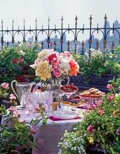 country or city, a lovely garden party is always welcome :)