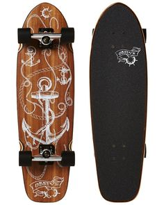 Jerry Walnut Cruiser Skateboard - OBfive Skateboards Attitude c825de98a26