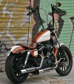 Harley Davidson Sportster Choppers | Harley-Davidson Sportster Guma 76 « Red Choppers Bike & Parts