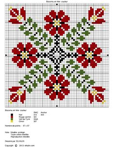 Another cross stitch pattern to try to adapt to loom   #heartbeadwork #loombeading