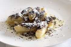 Czech Recipes, Ethnic Recipes, Dumplings, Sweet Recipes, French Toast, Oatmeal, Food And Drink, Sweets, Meals