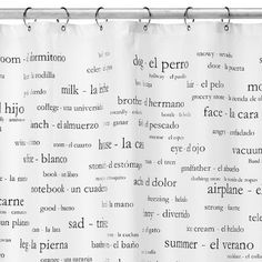 My future shower curtain...there's one in Thornes Market in Northampton MA that has japanese or italian also.