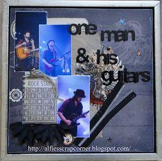 One man and his guitars. Tim Christensen. Gjethuset 2012