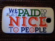 Yes, it's true! I get paid to be nice to people! Wanna know how you too can get paid for being nice! http://CustomCardDiva.com