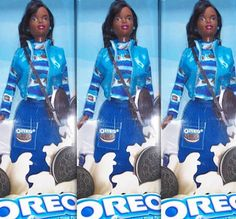 """In 1997, the """"Oreo Barbie"""" scandalized the African-American community which slammed the name for insinuating that the doll is like the eponymous cookie: """"black on the outside, white on the inside""""."""
