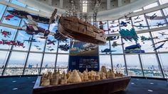 """坂井直樹の""""デザインの深読み"""": ジブリの「空飛ぶ機械達」展「風の谷のナウシカ」をはじめ、「天空の城ラピュタ」「風立ちぬ」など大方のジブリアニメは空を浮遊する。それらの発想の一つとなった飛行体の群れに感動した!"""