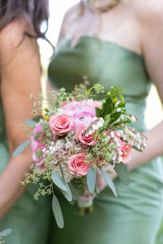 Summer blooms: http://www.stylemepretty.com/2015/07/10/13-gorgeous-bridesmaids-bouquets-from-the-midwest/