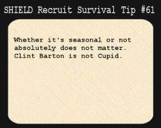 SHIELD Recruit Tip #61