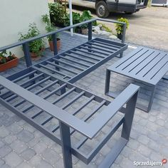 Welded Furniture, Garden Furniture, Furniture Design, Outdoor Furniture, Outdoor Decor, Metal Sofa, Outdoor Patio Designs, Wood Design, Backyard