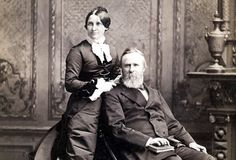 "Rutherford B. Hayes married Lucy Webb in 1852. In the White House she was known as ""Lemonade Lucy"" because of her refusal to serve alcohol at official state functions."