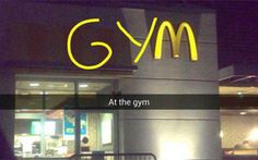 I Was At The Gym