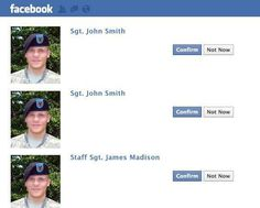 Online dating for soldiers