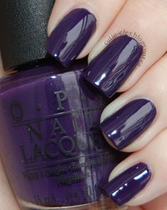 Cutie-cles: OPI Euro Centrale Full Collection - Swatches & Review - OPI Vant to Bite My Neck?
