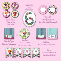 Beth Kruse Custom Creations: they are here....lalaloopsy printables!