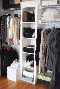 expedit in closet