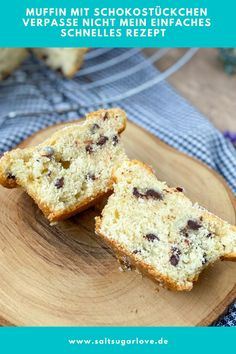 Muffins, Cupcakes, Foodblogger, Banana Bread, French Toast, German, Community, Breakfast, Board