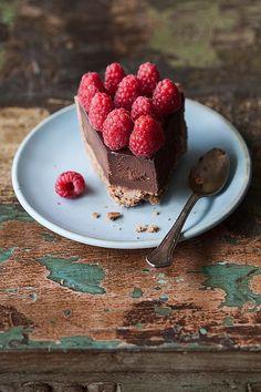 Raspberries and chocolate? Yes please!