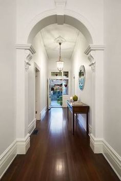 East Malvern Residence by LSA Architects 10 Classic Brick Federation House in Suburban Melbourne Updated for Modern Family Living Foyer Decorating, Interior Decorating, Interior Design, Luxury Interior, Home Renovation, Home Remodeling, Kitchen Renovations, Edwardian Haus, Victorian
