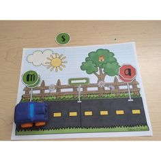 Conscience phonémique : Planche de jeu (fusion)                                                                                                                                                                                 Plus Conscience Phonémique, Kindergarten Activities, Preschool, Grade 1 Reading, French Resources, French Immersion, Learning The Alphabet, Daily 5, Teaching Reading